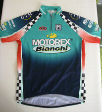 maillot XXXL équipe Cycliste italienne italie Santini MOTOREX BIANCHI maglia