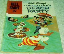 Walt Disney's Donald Duck's Beach Party 6, FN- 5.5 1959, 50% off Guide