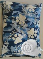 LARGE & XTRA LARGE DOG BED WITH DUVET FILLING & REMOVABLE WASHABLE ZIPPED COVER
