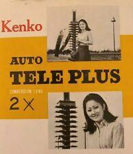 Vintage Kenko Auto Teleplus 2x Conversion Lens
