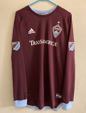 Adidas Colorado Rapids 2019/2020 Home Authentic Climachill  Soccer Jersey