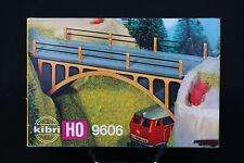 V346 KIBRI maquette diorama Ho B-9606 pont route boite vide empty box