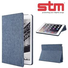 STM Atlas Lightweight Flip Folio Protective Case for iPad Air 2 - Denim Blue