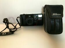 Nikon Tele-Touch Deluxe AutoFocus 35mm Film Camera - with case & 3 rolls of film