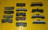 HO SCALE MODEL TRAIN Lot 13 - Boxcar, Tanker, Coal Oil Gas Athearn NYC
