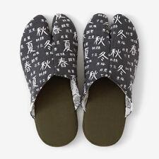 Tabi Slippers Ninjya SOU SOU KYOTO Room Shoes Gray Japanese Traditional New