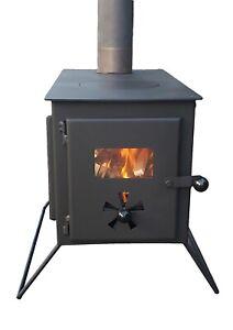 Bell Tent Glass Log Burner Wood Burning Stove Oven