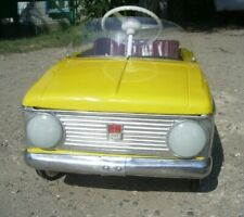 Windshield pedal car Moskvich USSR Soviet toy Windshield with mounting hardware