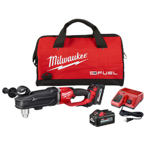 Milwaukee 2809-22 M18 Fuel Super Hawg 1/2 in. Right Angle Drill Kit