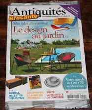 REVUE Antiquités Brocante NEUF 201 Désign au jardin Moyat Malletier Concorde ..