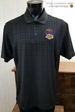 Los Angeles Lakers Basketball 2010 Nba Champions Adidas Polo Golf Shirt Sz Xl