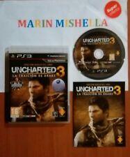 Uncharted 3 La Traicion De Drake Edicion juego del año completo Ps3 Pal España.