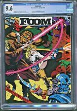 FOOM #21 1978 Marvel Star Wars Sci-fi Issue CGC 9.6