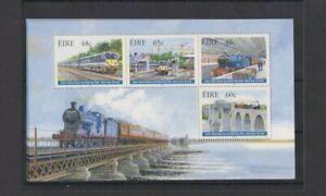 IRELAND 2005 150th Anniversary Dublin-Belfast Railway M/Sheet MNH per scan