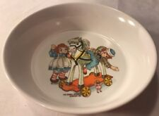 Vintage Oneida Raggedy Ann Andy Cereal Bowl Bobbs Merrill 1969 Very Good