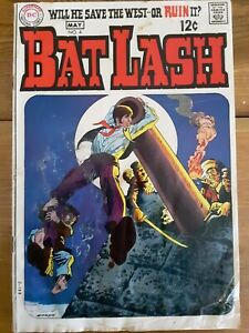 BAT LASH #4, first series (DC, May 1969) GD (2.0) Nick Cardy cover and art