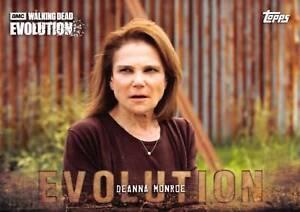 DEANNA MONROE (Tovah Feldshuh) / Walking Dead Evolution Base Trading Card #86