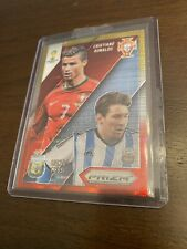 2014 Panini Prizm Worldcup - Gold/Red Refractor- Ronaldo/Messi