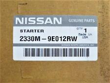 New 2001 NISSAN Altima Starter Motor OEM 2330M9E012RW 2330M-9E012RW