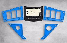 NEW 2017 POLARIS RZR XP 1000 RIDE COMMAND BLUE DASH PANEL 6 SWITCH PLATE