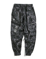 Bape A Bathing Ape Camo Sport Loose Trousers Casual Long Relaxed Tapered Pants