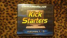 Kick Starters volumes  1 - 5  ChurchMedia.net 5 disk set