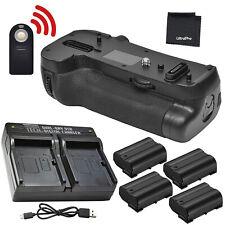Battery Grip for Nikon D850 + 4x EN-EL15/EN-EL15a Battery + Dual Charger + BONUS