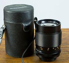 Exc++ Kamero Auto 135mm f2.8 Prime Telephoto M42 Screw Mount Lens w/case Tested!