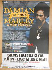 DAMIAN MARLEY  2006  ORIGINAL CONCERT-KONZERT-TOUR-POSTER  84 x 60 cm
