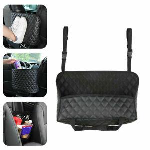 Universal Car Seat Storage Bags Handbag Holding Net Hanging Between Car Seat