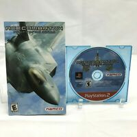 Ace Combat 4: Shattered Skies (Sony PlayStation 2, 2004) - Disc & Manual Only