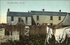 Nantucket MA Old Jail c1910 Postcard #2