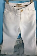 Burberry Children White Boys Pants Size 3 Years