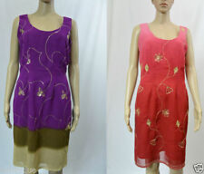 Unbranded Floral Cocktail Tunic Dresses for Women