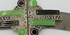 Sandor Mesh Art Deco Belt