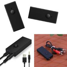 DC 5V Bluetooth 3.0 3.5mm Audio  Sender Stereo Adapter for TV PC MP3 New DE