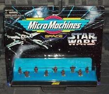 STAR WARS MICRO MACHINES JAWAS 9 PC MINI FIGURE SET