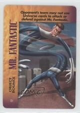 1995 Marvel Overpower Collectible Card Game #DI Mr Fantastic (Object Bounce) 0g3