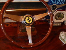 Ferrari 328 GTS Steering Wheel Wood NARDI NEW Rare Model fit Original MOMO Hub