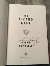 Signed - The Lizard Cage by Karen Connelly (2007, Hardcover)