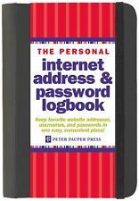 The Personal Internet Address And Password Log Book Keep Website Information