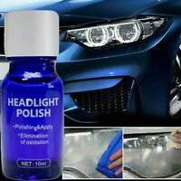 New Car Headlight Lens Restoration Repair Kit Car Liquid Ceramic Coat Cleaner UK