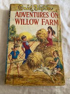 Enid blyton Adventures On Willow Farm 1968 1st Edition Hardcover