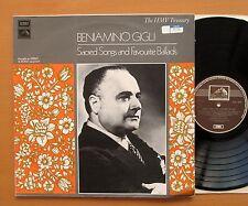 HLM 7019 Beniamino Gigli Sacred Songs & Favourite Ballads HMV Treasury NM/VG
