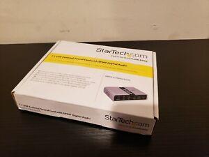 StarTech ICUSBAUDIO7D  7.1 USB Audio Adapter External Sound Card with SPDIF