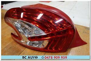 Peugeot 208 Hatch Left LH Tail Light Lamp Genuine Lens L 2012 2013 2014 2015 OEM