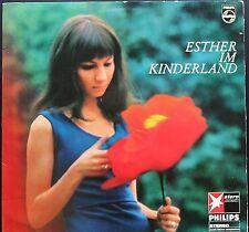 ESTHER OFARIM ESTHER IM KINDERLAND 33T LP PHILIPS STERN GEMA 843.995