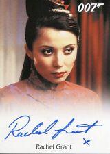 James Bond Archives 2017 Full Bleed Autograph Card Rachel Grant As Fountains