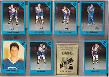 1990 Hockey 7th Inning Sketch Coupe Memorial Cup Set Break #/3k Kamloops Blazers