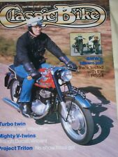 Classic Bike 06/85 Buying Second Hand Ducati 750 V-Twins,BSA, Brough Superior